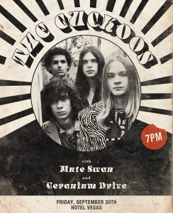 The Cuckoos, Mute Swan & Geranium Drive (Early Show)