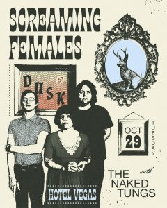 Screaming Females, Dusk, and the Naked Tungs