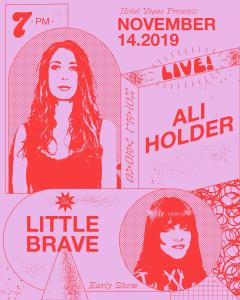 Early Show: Ali Holder & Little Brave