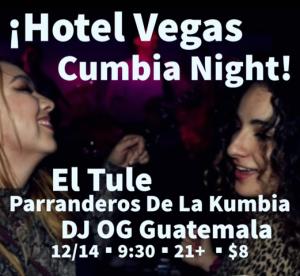 El Tule Residency and Parranderos De La Kumbia with DJ OG Guatemala