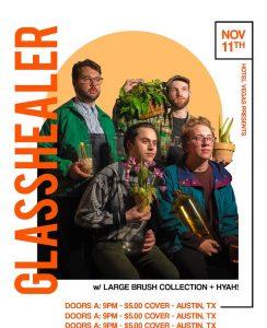 Hyah!, Large Brush Collection, & Glasshealer