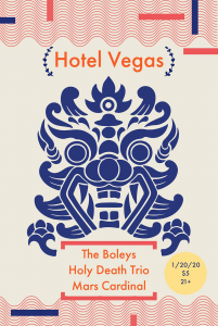 Secret Soup Presents: The Boleys, Holy Death Trio, Mars Cardinal