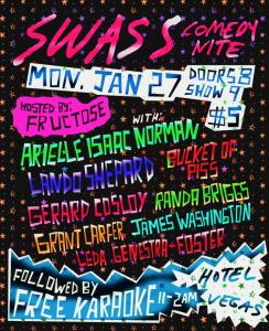 SWASS Comedy Nite + Free Karaoke