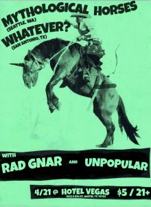 Rad Gnar, Mythological Horses, Whatever?, Unpopular
