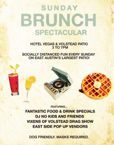 Sunday Brunch Spectacular - Every Sunday @ Hotel Vegas & The Volstead