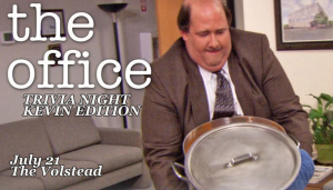 Trivia Night - The Office: Kevin Edition @ Hotel Vegas & The Volstead