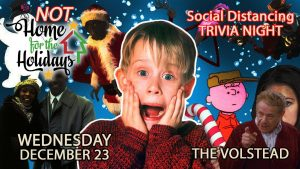 Not Home for the Holidays | Holiday/Festivus Trivia Night @ Hotel Vegas & The Volstead