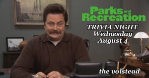 Trivia Night - Parks & Recreation @ Hotel Vegas & The Volstead