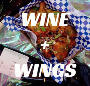 Wine + $1 Wings ft. DJs Christian + Jake (of The Black Angels)