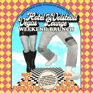 Saturday All Day Brunch on the Patio