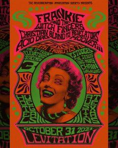 🎃 LEVITATION: Frankie & The Witch Fingers, Christian Bland & The Revelators, Acid Dad, Hooveriii 🎃
