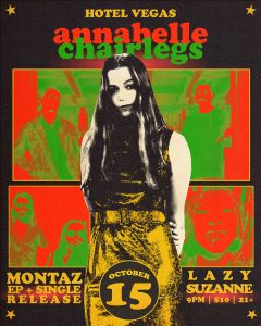 Annabelle Chairlegs, Montaz (EP Release), Lazy Suzanne
