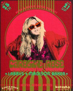 SOLD OUT! Ranch Rider & KUTX Present: Caroline Rose w/ LABRYS, Madison Bak