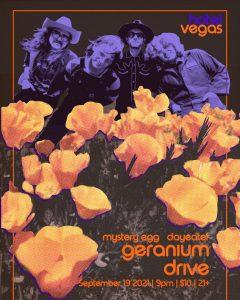 Geranium Drive, Mystery Egg, Dayeater