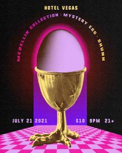 Medellin Collection, Mystery Egg, SKUNK