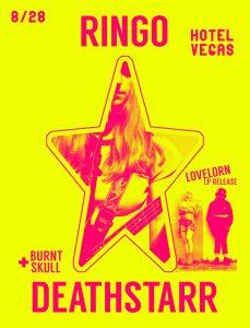 Ringo Deathstarr, Lovelorn LP Release, Burnt Skull, DJVictor Gutierrez