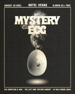 Mystery Egg - FREE on the Patio!