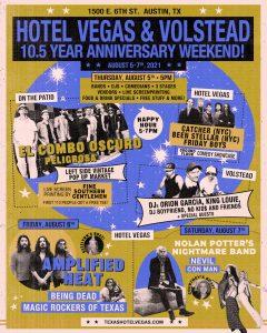 Hotel Vegas & The Volstead 10.5 Year Anniversary Weekend Kickoff!