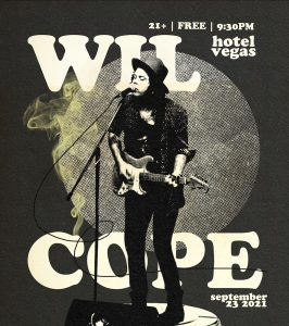 Wil Cope - FREE on the Patio!