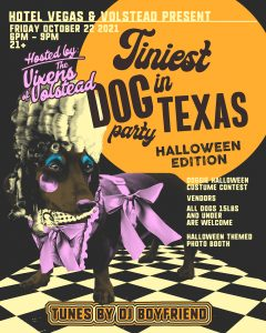 Tiniest Dog Party in Texas: Halloween Edition