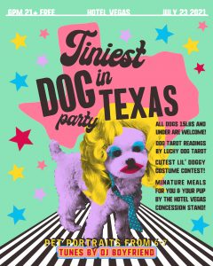 Tiniest Dog in Texas Party!